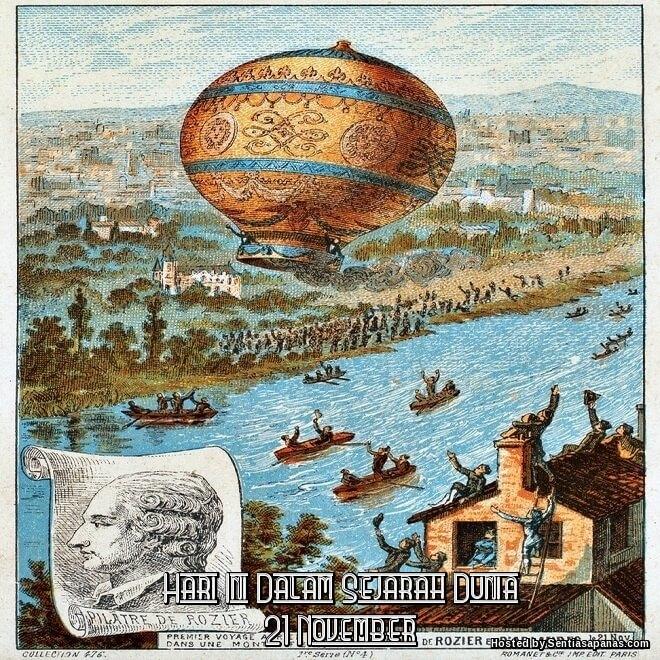 Peristiwa Penting Hari Ini Dalam Sejarah Dunia (21 November)