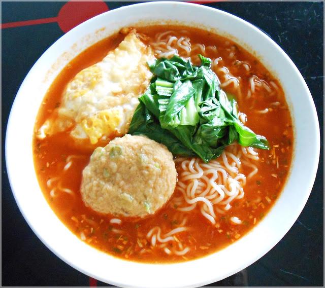 Samyang Kimchi instant noodles