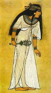 Ricerca sull'abbigliamento degli Egizi