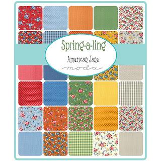 Moda Spring A Ling Fabric by American Jane for Moda Fabrics