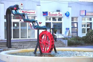 September 2015 - Das Mühlrad dreht sich wieder, der Bach führ Wasser und die Quelle sprudelt