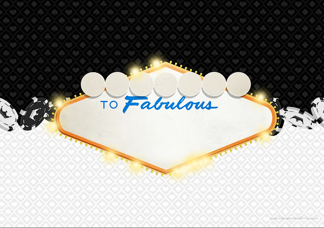Para hacer Invitaciones, Tarjetas o Marcos para Imprimir Gratis de Fiesta de Las Vegas.