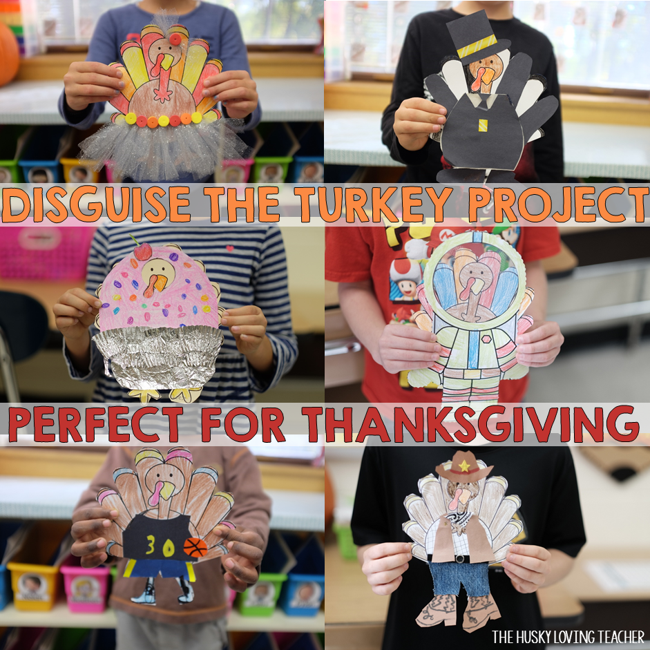 How to decorate and hide the turkey - Disguise The Turkey The Perfect Thanksgiving Project