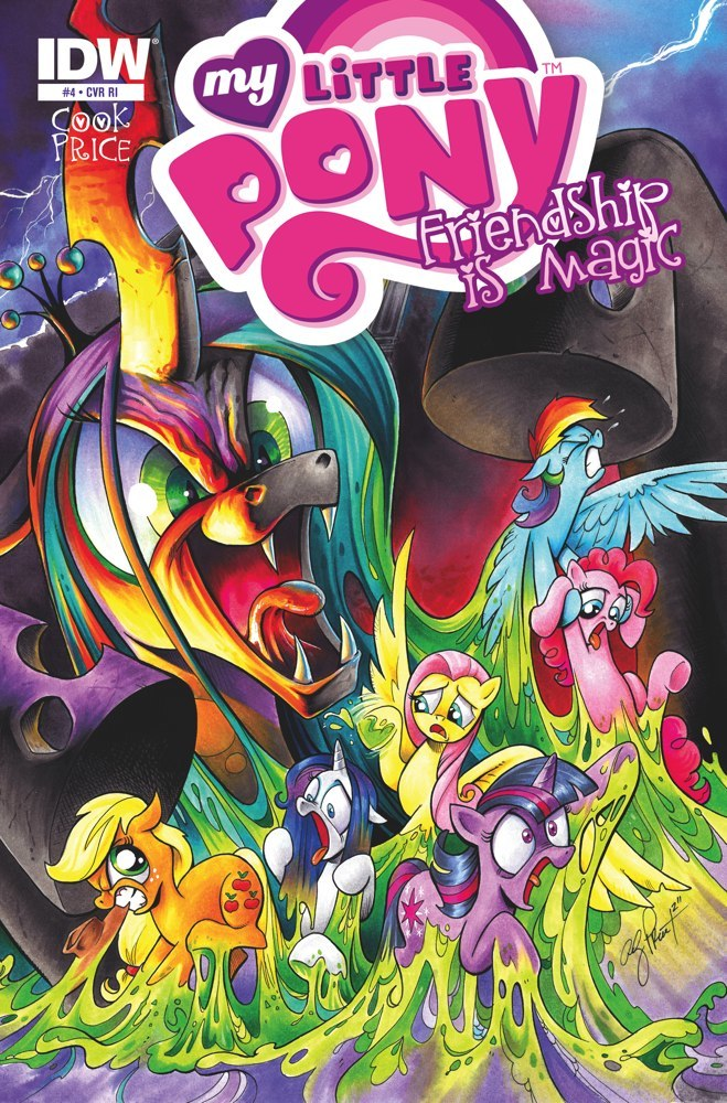 mlp friendship is magic issue amp 4 comic covers mlp merch