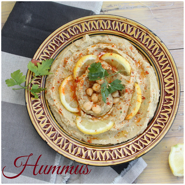 Hummus {crema De Garbanzos}