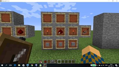 minecraft vöröskő jelismétlő