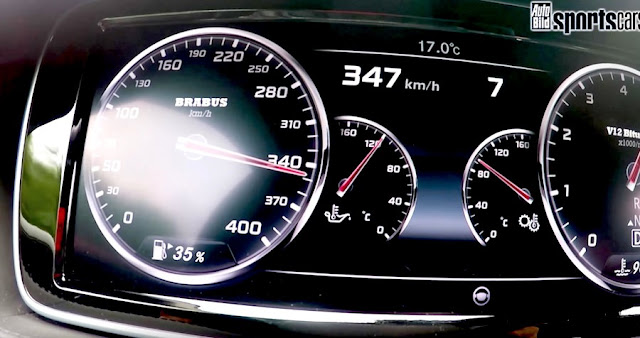ブラバス 加速 メーター