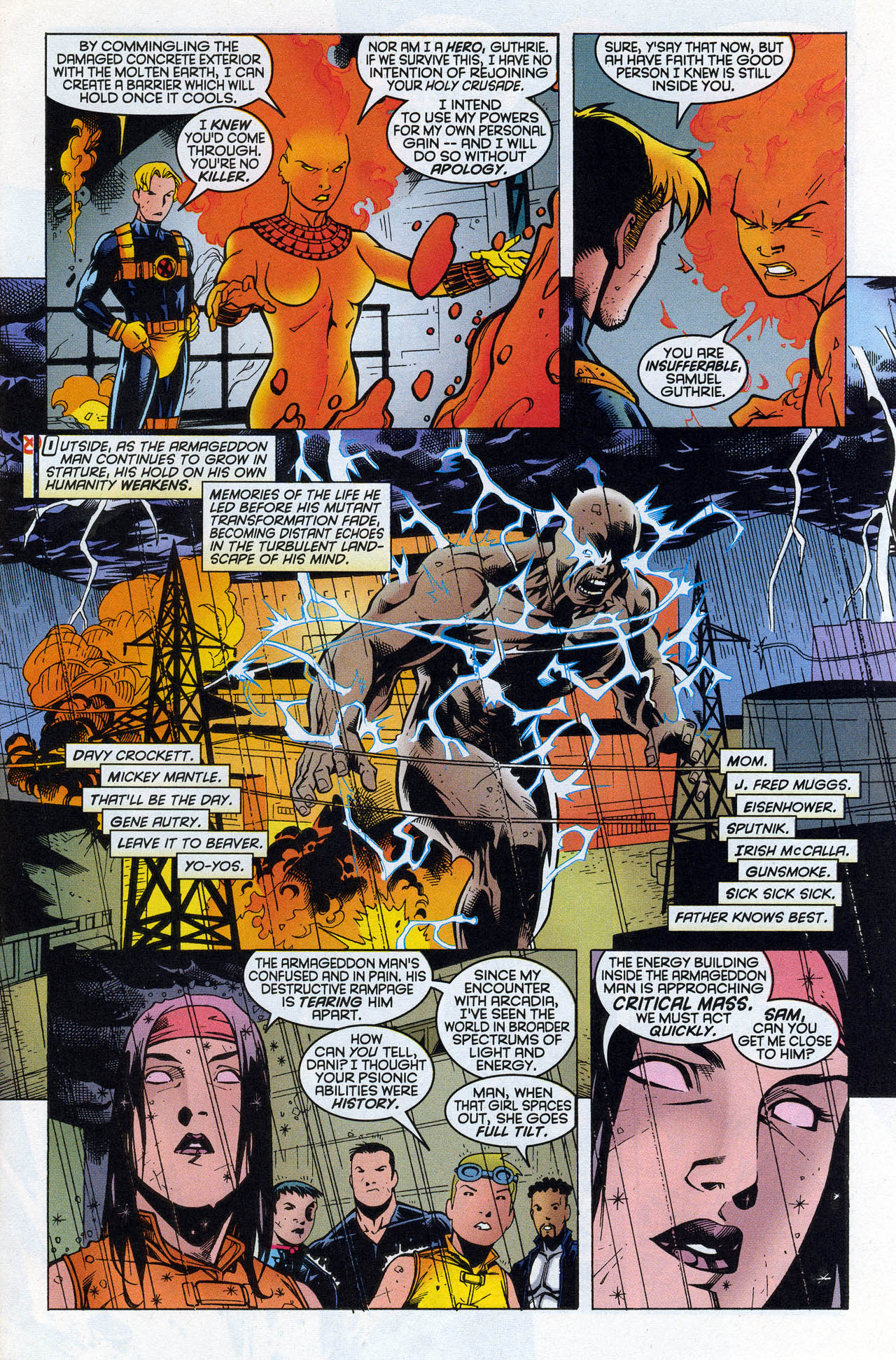 Read online X-Force (1991) comic -  Issue #90 - 20