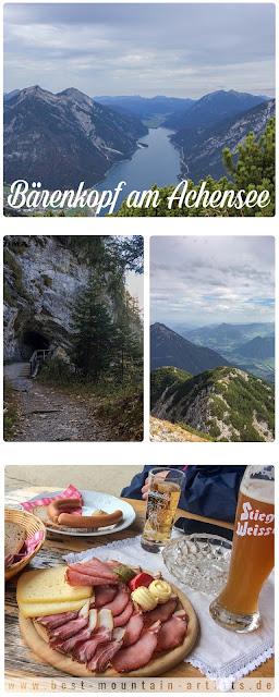 Wanderung am Achensee - von Pertisau auf den Bärenkopf - wandern Tirol