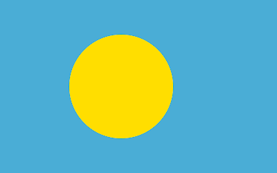 National Flag of Palau