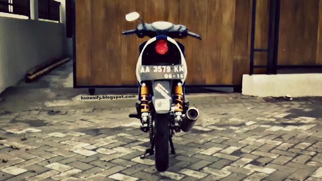 Cara Mudah Merepaint Atau Mengecat Ulang Warna Shock Breaker Sepeda Motor