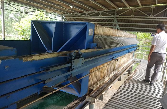 Máy ép bùn khung bản Việt Nam Vĩnh Phát vẫn đang chạy tốt và ổn định sau nhiều năm sử dụng
