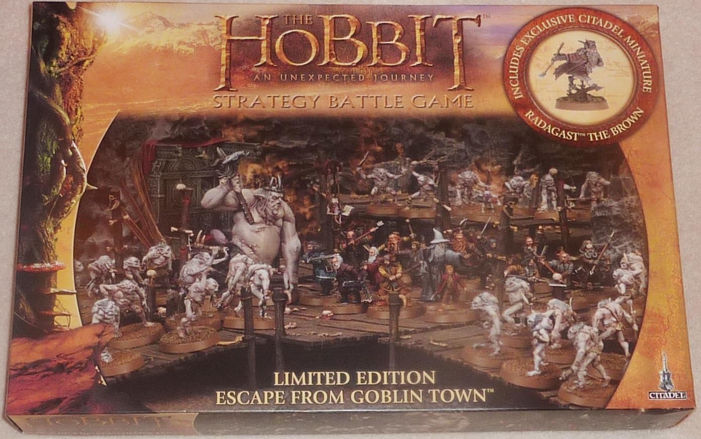Legatus Wargames Armies The Hobbit Escape From Goblin Town