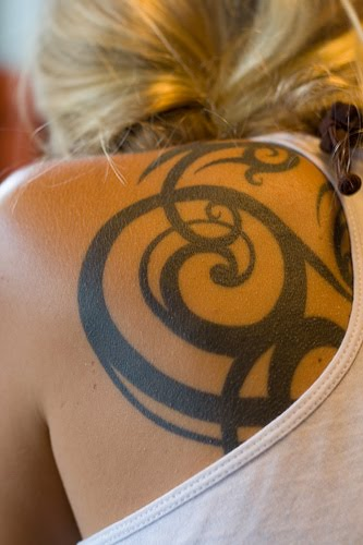 Tribal Tattoo Designs For Womens Back: Tribal Tattoo For Women