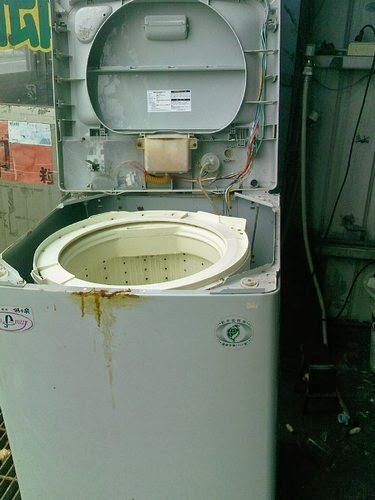 小二電器維修-2手-零件-宅配: SW-906S 三洋洗衣機*水位燈閃爍故障修理(小二電器維修-2手買賣-中古零件)