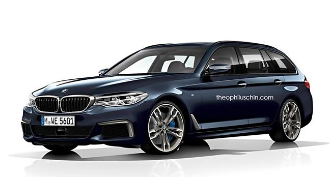 2017 BMW 5 Series Touring G31 New Designs