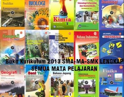 Download Buku Kurikulum 13 SMA-MA-SMK Lengkap