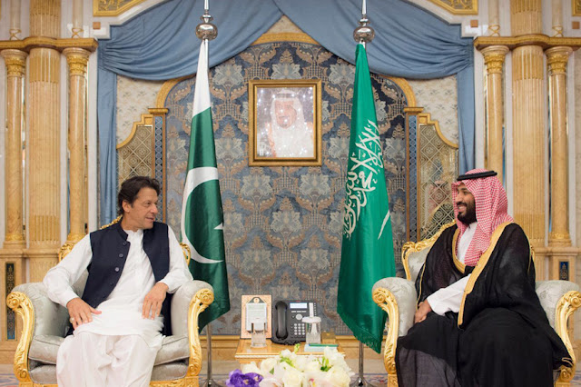Pakistan invites Saudi Arabia to join China's Belt and Road corridor