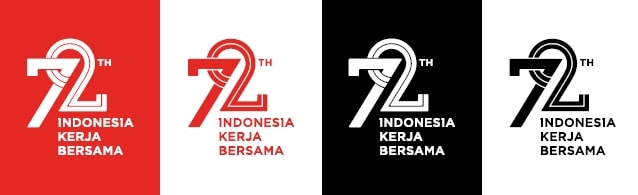 Logo tersier HUT RI 2017