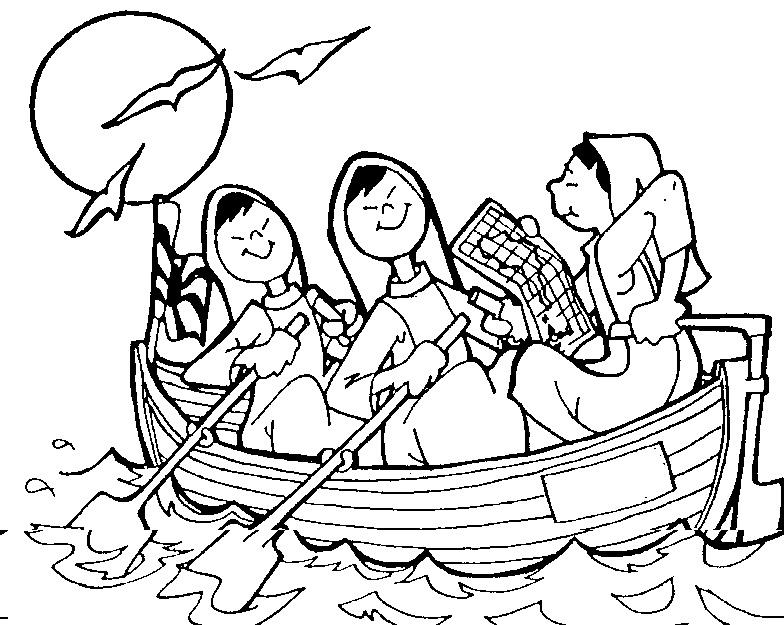 Dibujos Religiosos Para Colorear E Imprimir: Mujeres Cristianas Para Colorear