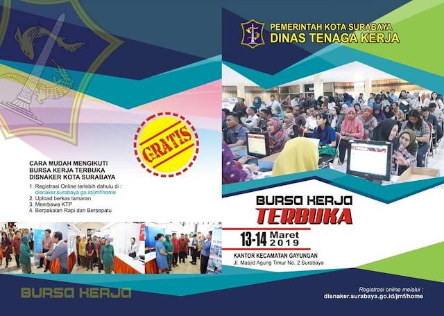 Bursa Kerja DINASKER Kota Surabaya