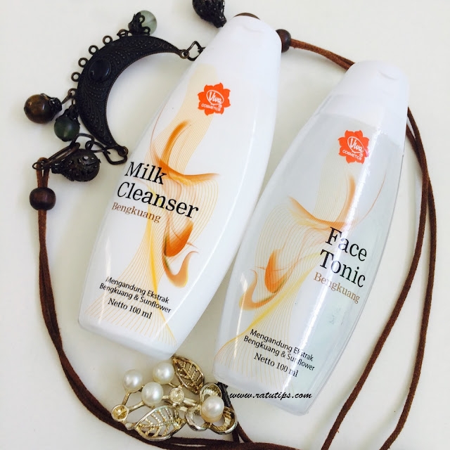 Tips Memiliki Wajah Putih dan Bersih Menggunakan Milk Cleanser dan Face Tonic Bengkuang dari Viva! Beneran bikin Putih!