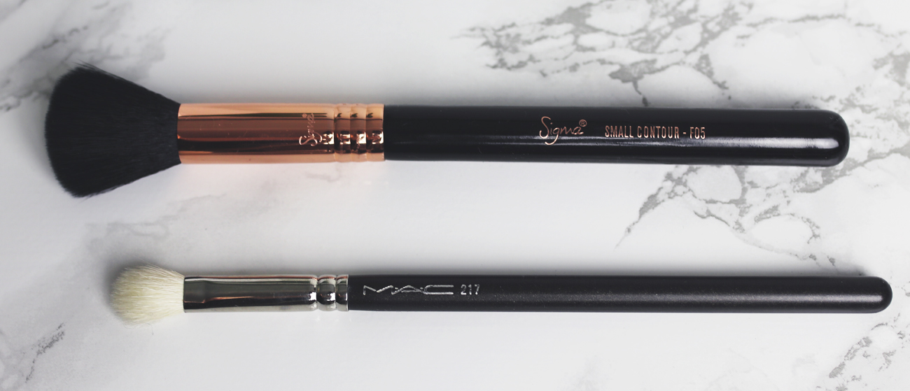 sigma small contour F05 mac 217 blending brush