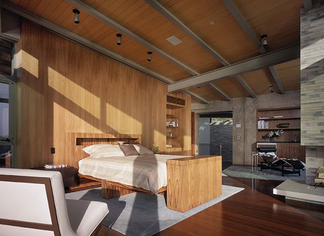kamar tidur rumah minimalis