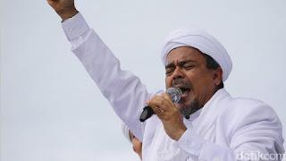 Habib Rizieq Pimpin Deklarasi 2019 Ganti Presiden di Jabal Rahmah