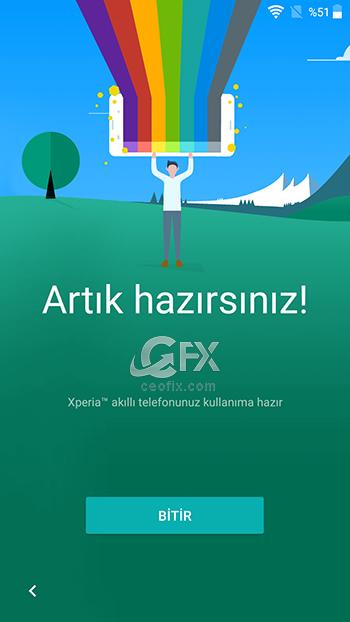 android kurulumu bitir ekranı - www.ceofix.com