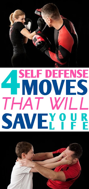 4 Self Defense Moves Every Woman Should Master!
