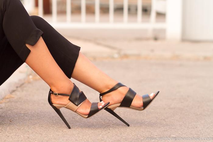 Blogger influencer experta en zapatos de marca