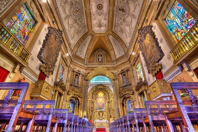 Igreja de Santo Ildefonso hoje em dia
