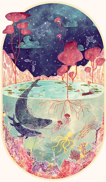 Goa Artist Illustrates the Splendor of the Underwater World Svabhu Kohli
