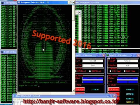 Anonymous DDOS Tools 2016 | Booting Tutorial | Cak Kus Comp