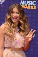 sofia reyes best red carpet dresses radio disney music award 2016 photo
