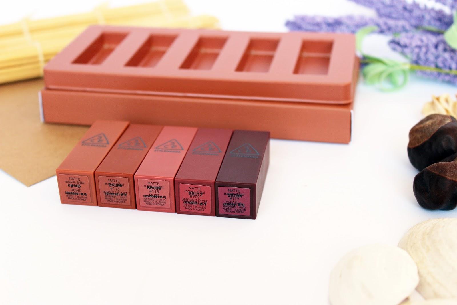 3CE Stylenanda, Mood Recipe Lip Color Mini Kit