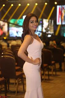 Aishwarya Devan in lovely Light Pink Sleeveless Gown 027.JPG