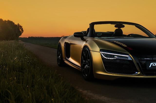 Fostla Audi V10 Spyder - #Fostla #Audi #V10 #Spyder #tuning