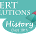 NCERT Solutions for Class 10th History