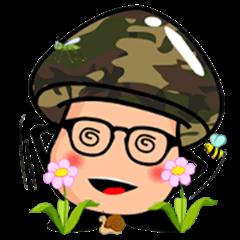 Collect Mushrooms Sticker