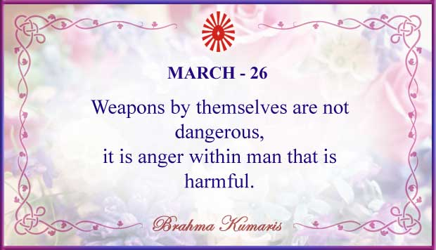 Thought For The Day March 26