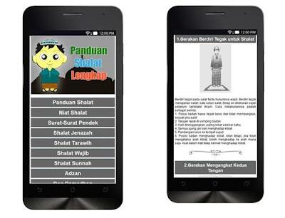aplikasi panduan sholat terlengkap