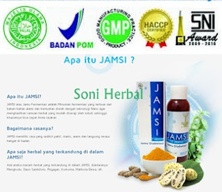 Jamsi obat herbal diabetes pasti murah di madu herbal