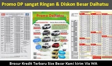 harga kredit mobil daihatsu gran max padang brosur