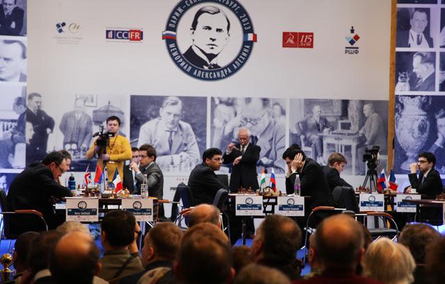 Alekhine Chess 2013 R6: Maxime Leads ~ Chess Magazine Black