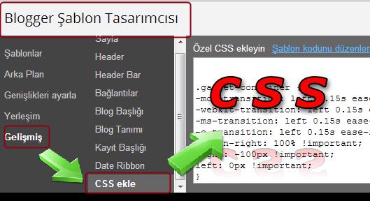 Tema CSS Kodları