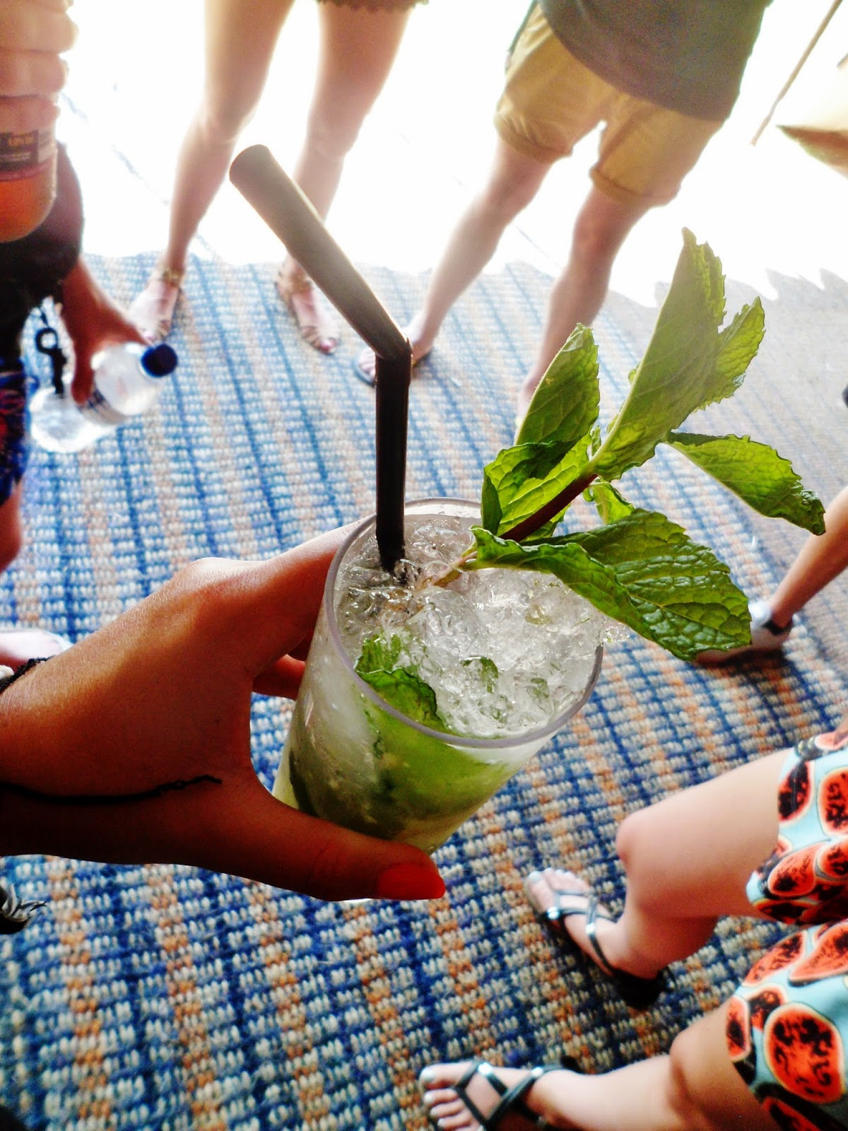 photo of mojito at Secret Garden Party 2014