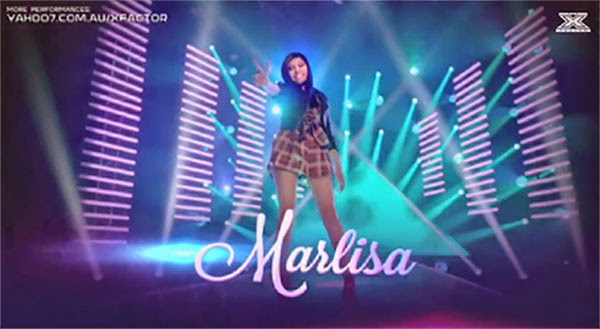 Marlisa Punzalan enters the Top 5 finalist of X Factor Australia 2014