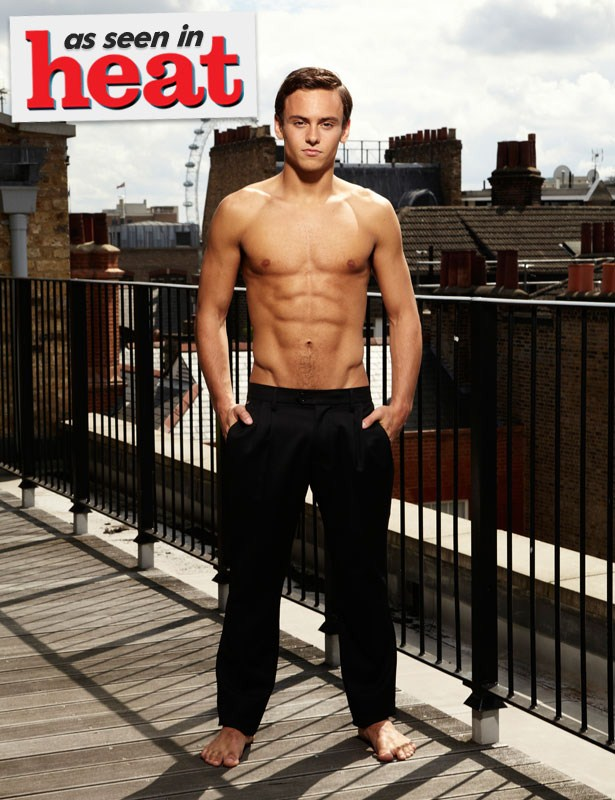 The Stars Come Out To Play: Tom Daley - New Shirtless Pics